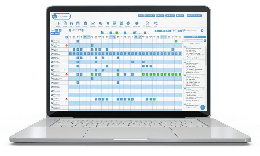 Workforce Management Software - Plan and Schedule Staff Appointments