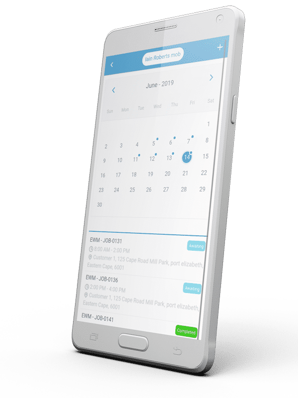 Workforce Scheduling - Mobile Diaries