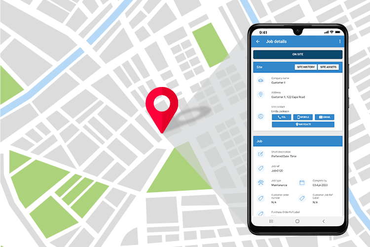 Fully Integrated System with Live Location