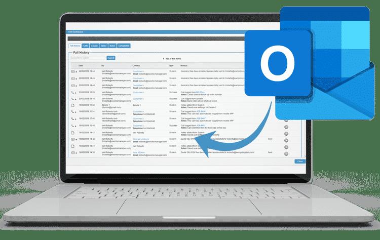 CRM Software - Outlook Integration