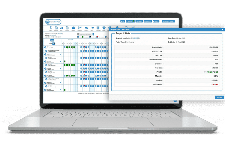 Receipt Management Software - track job and project expenses efficiently