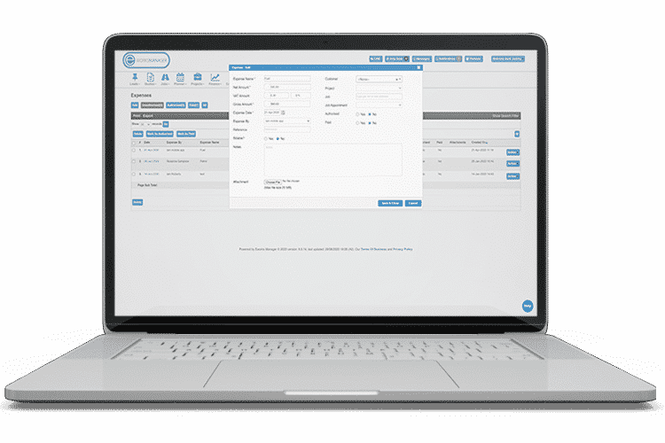 Expenses Management System - capture billable and non-billable expenses