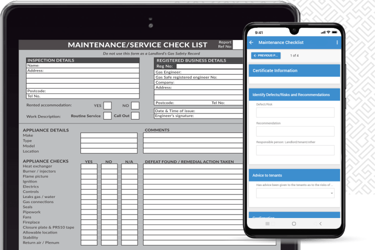 Plumbing and Heating Software - Digitise your certificates and documents
