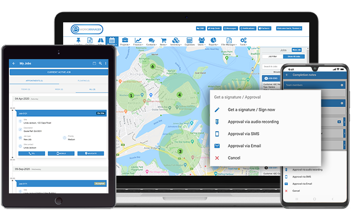 Field Service and Job Management Software